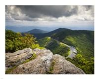 Blue Ridge Parkway Craggy Gardens Scenic Mountains Asheville NC Fine-Art Print