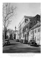 Salem College, General View, Salem Square, Winston-Salem, Forsyth County, NC Fine-Art Print