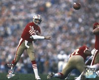 Joe Montana Super Bowl XIX 1985 Action Fine-Art Print