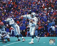 Dan Marino 1995 Action Fine-Art Print