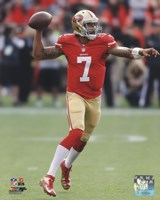 Colin Kaepernick throwing the ball 2013 Fine-Art Print