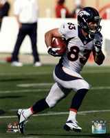Wes Welker Running Football Fine-Art Print