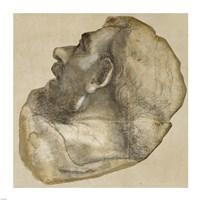 Cartoon of the Head of Saint James Fine-Art Print