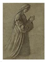 Study of the Virgin Fine-Art Print