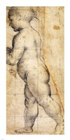 Study for the Figure of the Infant Saint John the Baptist Fine-Art Print