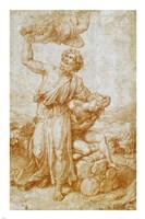 The Sacrifice of Isaac Fine-Art Print