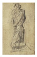 Study of Saint Francis Fine-Art Print