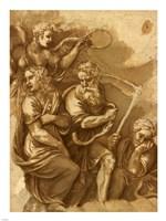 Victory, Janus, Chronos & Gaea Fine-Art Print