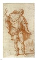 Study of a Male Figure Fine-Art Print