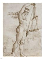 Allegory of Justice Fine-Art Print