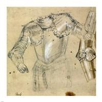 Studies of Armor Fine-Art Print