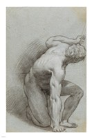 Kneeling Figure Fine-Art Print