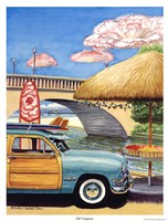 Turq Woody III Fine-Art Print