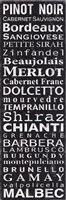 Pinot Noir - Black Fine-Art Print