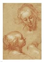 Three Studies of Women Fine-Art Print