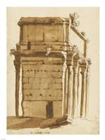 The Arch of Septimius Severus Fine-Art Print