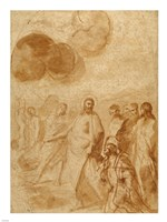 Christ's Command to Saint Peter, Feed My Sheep Fine-Art Print