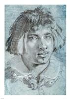 Portrait of a Young Man Fine-Art Print