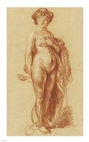 Nude Woman with a Snake Fine-Art Print