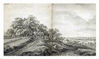 Landscape with Haymakers Fine-Art Print