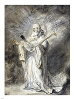 The Messenger of God Appearing to Joshua Fine-Art Print