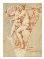 Venus and Cupid after Raphael Fine-Art Print