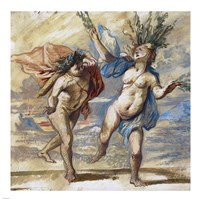 Apollo and Daphne Fine-Art Print