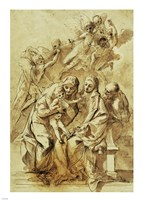Holy Family with Saint Anne Fine-Art Print