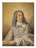 Portrait of M. Quatrehomme du Lys Fine-Art Print