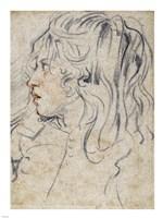 A Young Man Standing Fine-Art Print