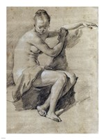 Seated Female Nude Fine-Art Print