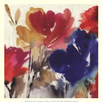 Watercolour Florals I - Mini Fine-Art Print