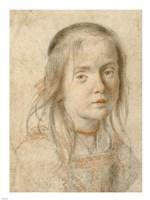 Portrait of a Girl Fine-Art Print