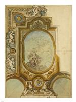 Studies for a Ceiling Decoration Fine-Art Print