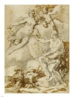 Venus Receiving from Vulcan the Arms of Aeneas Fine-Art Print