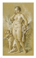 Venus and Cupid Fine-Art Print