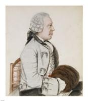 Portrait of Charles-Benjamin de Langes Fine-Art Print
