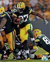 Eddie Lacy with the ball 2013 Fine-Art Print