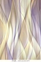 Sheer Lilac And Creme Fine-Art Print