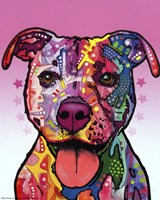 Cherish The Pitbull Fine-Art Print