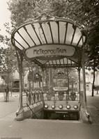 Metropolitain (Paris) I Fine-Art Print