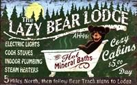 Lazy Bear Fine-Art Print