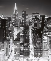 Night Skyline NYC Fine-Art Print