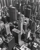 Chrysler Building And Midtown Manhattan Fine-Art Print