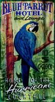 Blue Parrot Fine-Art Print