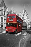 Red Bus Fine-Art Print