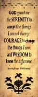 The Serenity Prayer Fine-Art Print