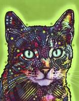 Watchful Cat Fine-Art Print