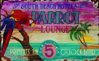 Parrot Lounge Fine-Art Print