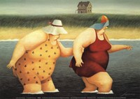 Judy and Marge Fine-Art Print
